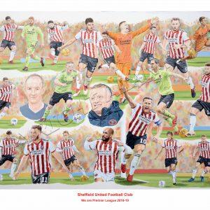 Sheffield United Print
